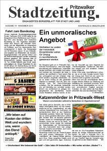 PSZ 16 November 2013_Titelseite