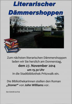 Literarischer Dämmerschoppen_27.11.2014