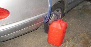 benzindiebstahl