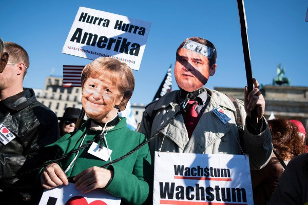 TTIP Demo_05_Hurra Hurra Amerika