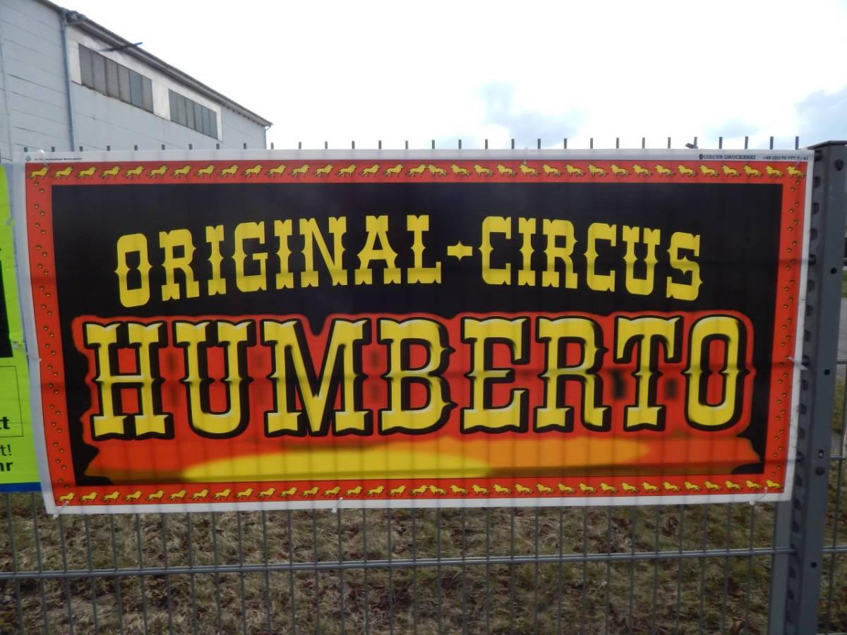 Circus Humberto in Pritzwalk. Festplatz vom 15.-18.3.