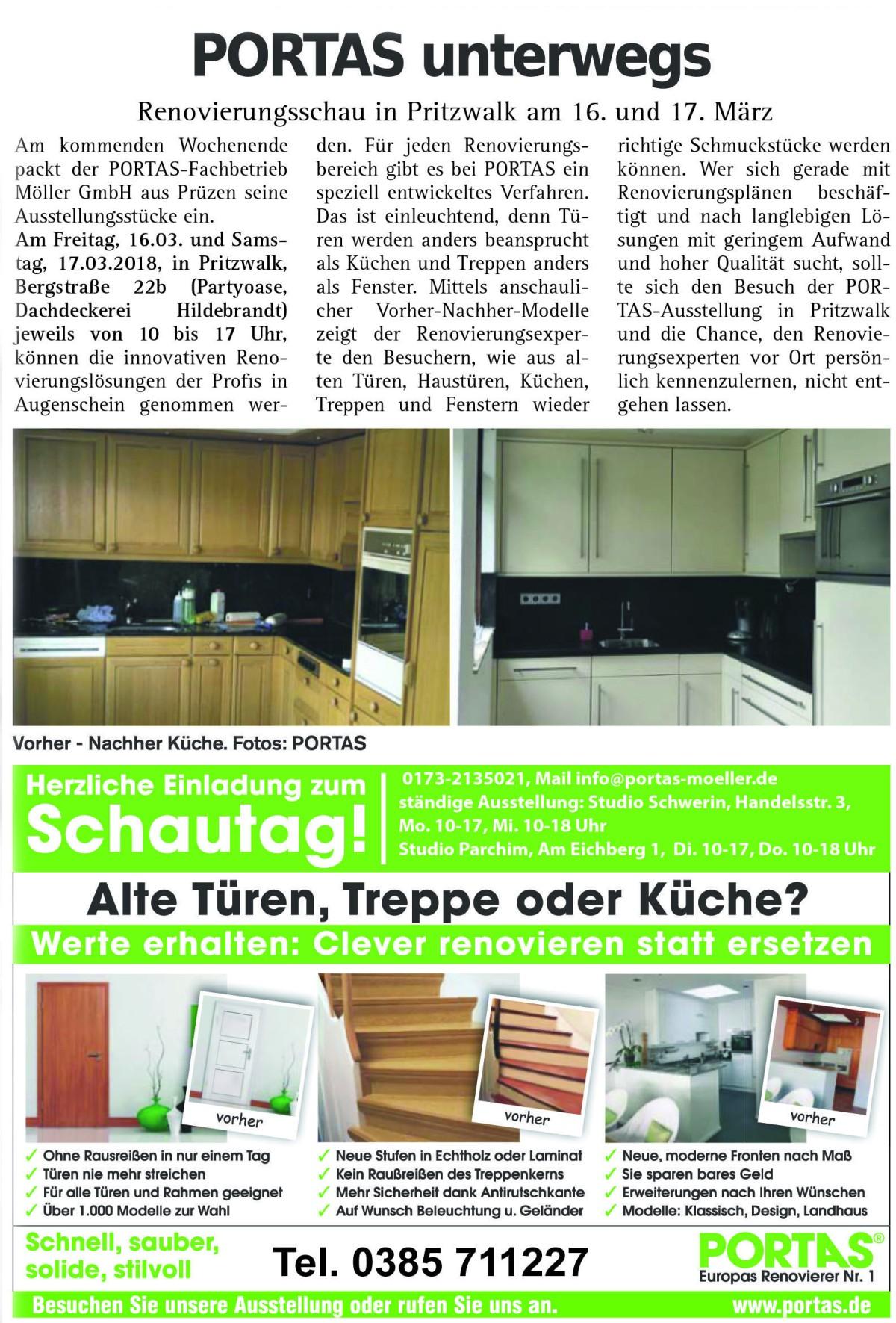 PORTAS_Zeitungsartikel für Pritzwalk Kopie – Pritzwalker Stadtzeitung