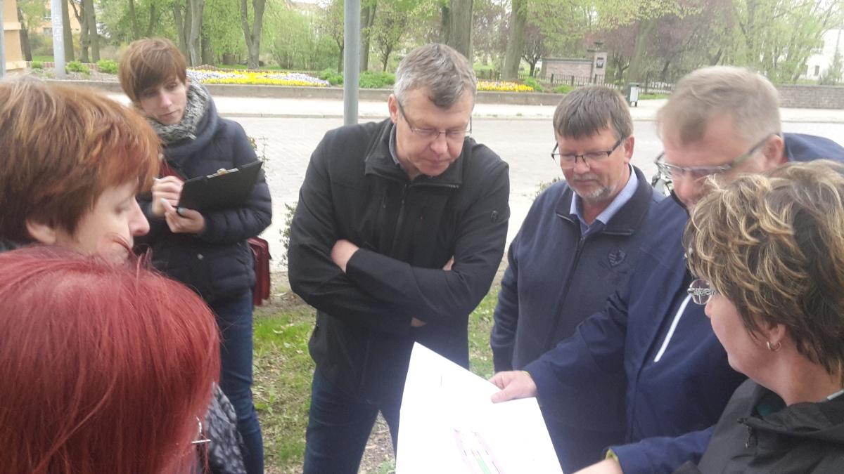 Kietz in Höhe des Bürgerparks erhält begrünten Mittelstreifen