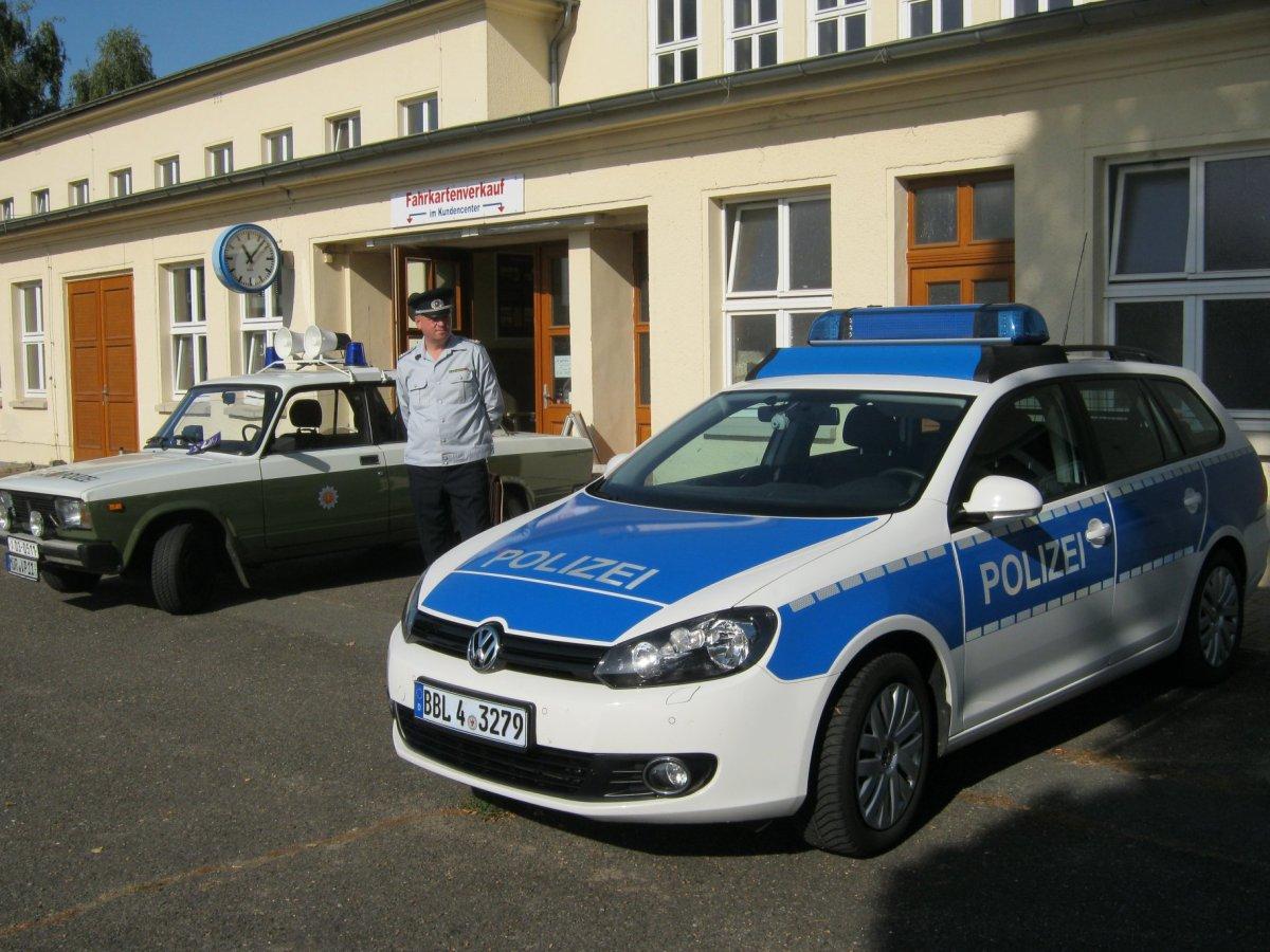 Polizei & Polizeimuseum Pritzwalk. Tag der offenen Tür. Bahnhof am 20.10. von 10-16 Uhr