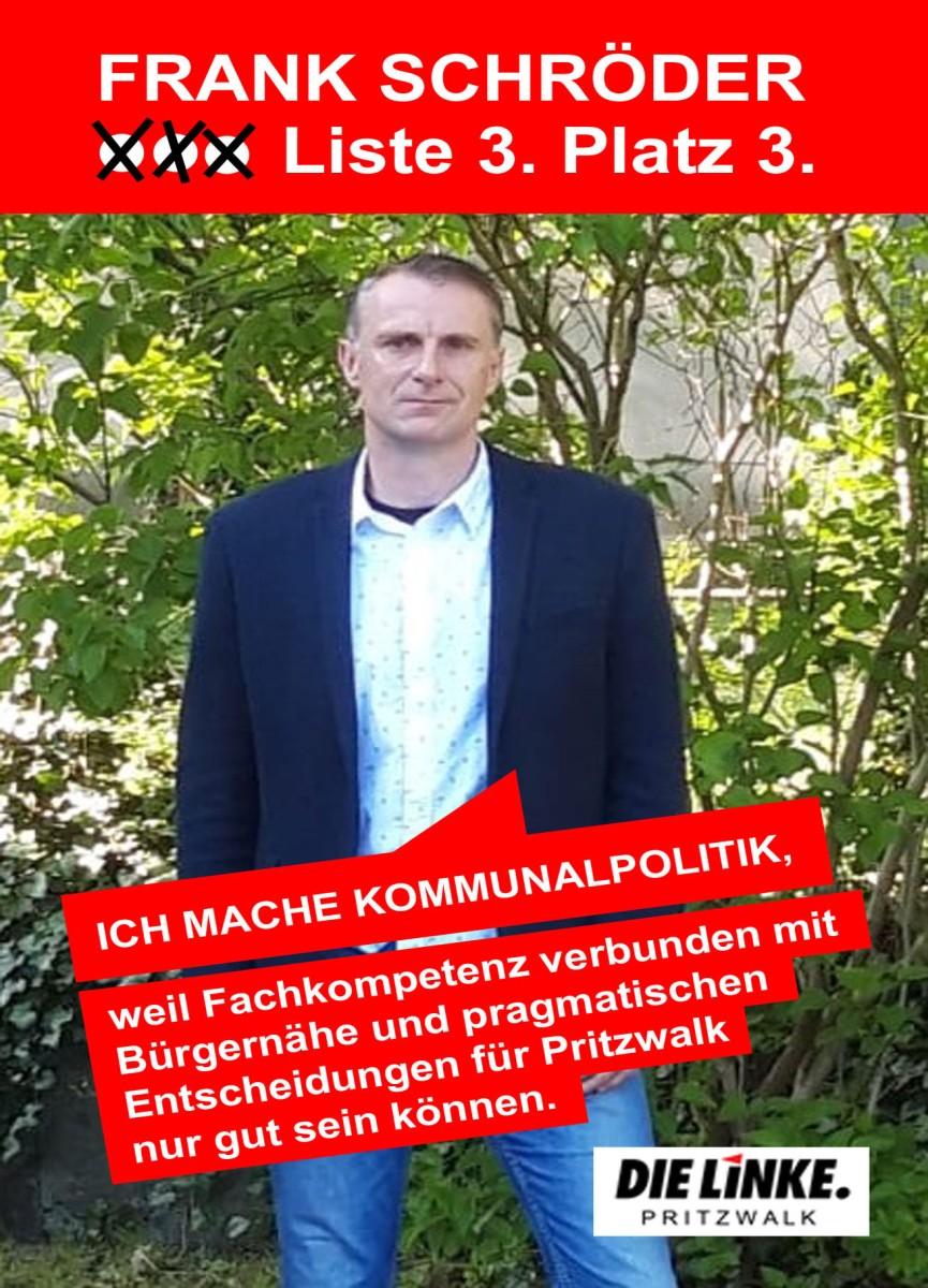 IM PROFIL: Frank Schröder hat sich einen guten Namen gemacht