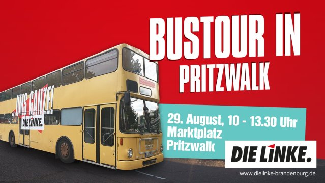 Bustour Die Linke