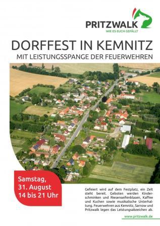 Dorffest Kemnitz 31.08.2019