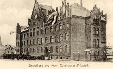 einweihung neues Schulhaus 1905