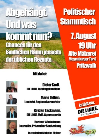 Plakat_Stammtisch_Regionales_August 2019 Kopie