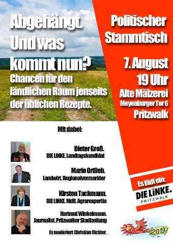 Plakat_Stammtisch_Regionales_August 2019_WEB