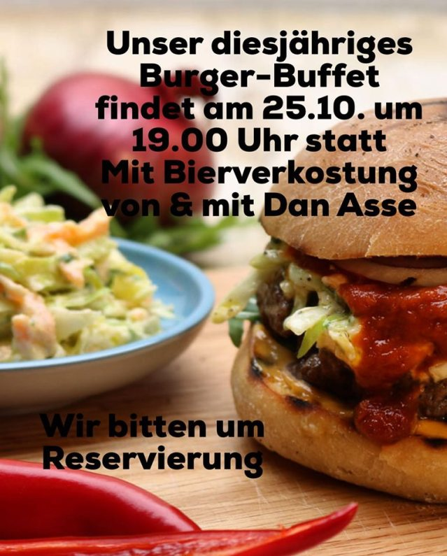 Burger-Buffet 2019