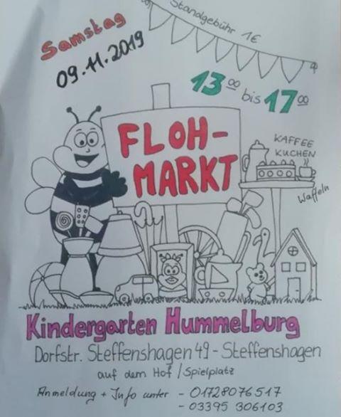 Flohmarkt Kita hummelburg