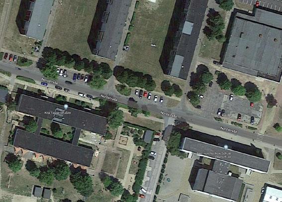 Verkehrslage vor Rochowschule