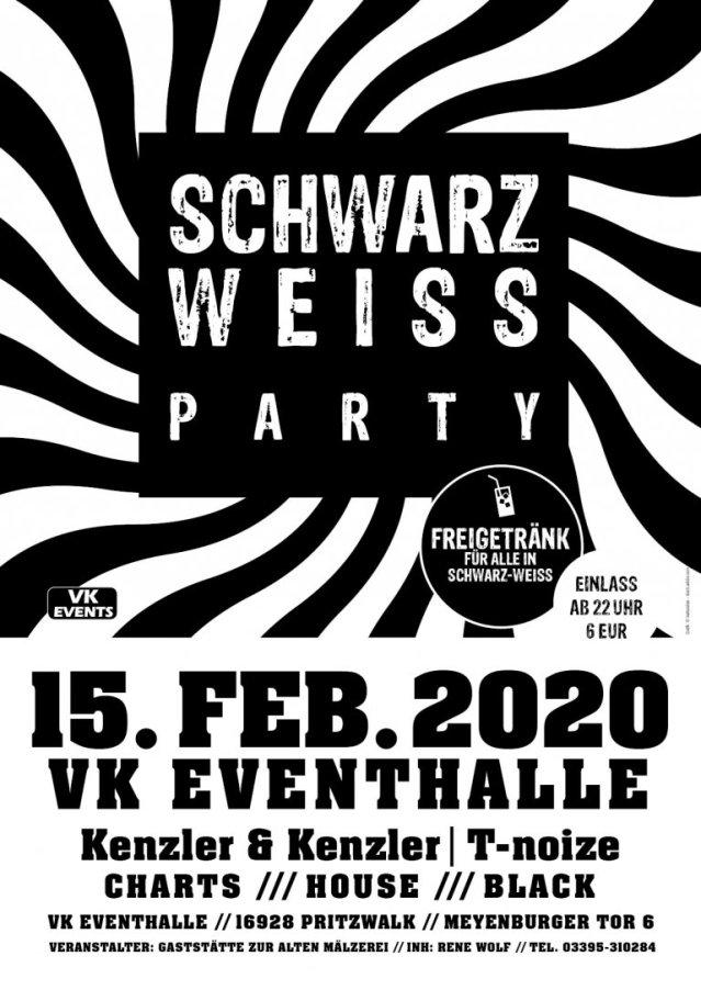 VKE Schwarz-Weiß-Party 15.02.2020